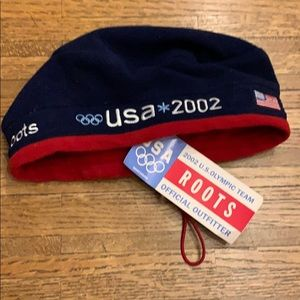 USA ROOTS OLYMPICS SOUVENIR BEANIE HAT